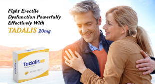 Tadalis 20mg Helps Achieve and Maintain Strong Erections