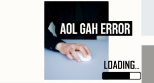 How do you fix the GAH error in AOL Mail?