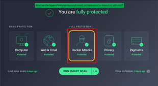 Types of Wireless Network Attack and How you Can Prevent it with AVG.com/retail