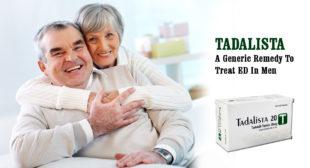 Tadalista Is a Hot-Selling Generic ED Medicine at HisKart