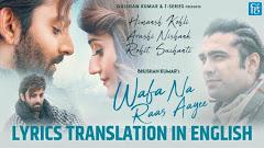 Wafa Na Raas Aayi Lyrics – Jubin Nautiyal › Read Here