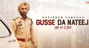 Gusse Da Nateeja – Satinder Sartaaj