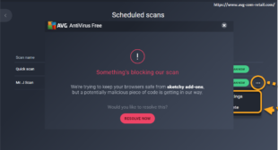 How to Resolve If AVG Stops Working After Update and Scanning Not Completed?