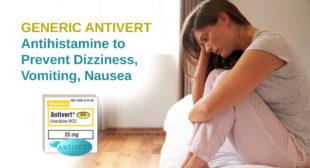 Grab deals on Generic Antivert pills