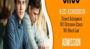 M.ed Admission 2021-2022 for Masters in Education Course Delhi