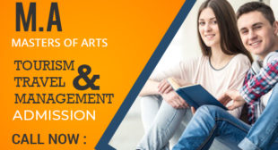 MA Tourism and Travel Management Distance learning Education Masters Degree courses Admission 2021