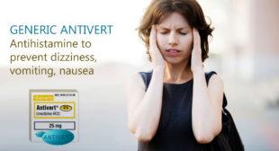 Get Generic Antivert Tablets on PharmaExpressRx