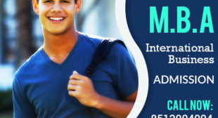 MBA in International Business Distance Learning education Admission 2021