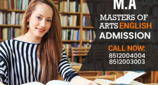 MA English Masters Degree Distance Education Learning Correspondence Admission 2021