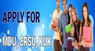 B.ed Form Last Date 2021-2022 for B.ed From MDU, CRSU, and Kurukshetra University.