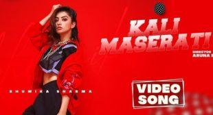 Kali Maserati Lyrics – Bhumika Sharma
