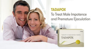 Generic ED and PE Medication Tadapox Is Much Cheaper on PharmaExpressRx