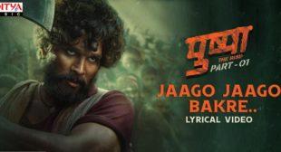 Jaago Jaago Bakre Lyrics – Pushpa