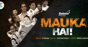 Mauka Hai – B Praak