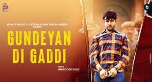 Lyrics of Gundeyan Di Gaddi by R Nait