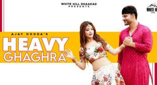 Lyrics of Heavy Ghaghra by Ajay Hooda