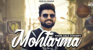 Mohtarma Lyrics – Khasa Aala Chahar