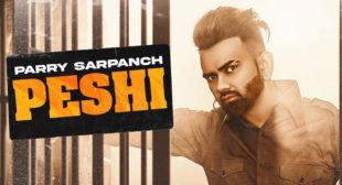 Peshi Parry Sarpanch Lyrics