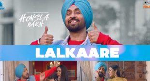 Lyrics of Lalkaare by Diljit Dosanjh
