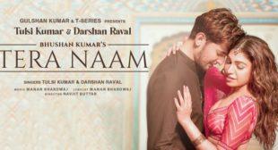 Lyrics of Tera Naam by Darshan Raval